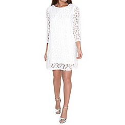 Alice & You - Cream lace shift dress