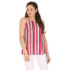 Madam Rage - Pink stripey cami