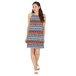Madam Rage - Multicoloured aztec swing dress