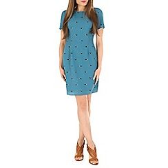 Sugarhill Boutique - Green nadine bird print dress