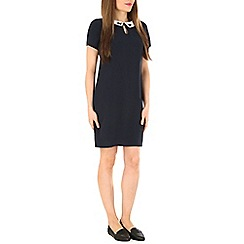 Sugarhill Boutique - Navy nara swan embro tunic dress