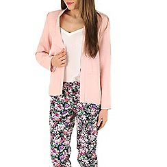 Sugarhill Boutique - Peach spring blazer