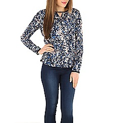 Sugarhill Boutique - Multicoloured katelyn floral smudge top