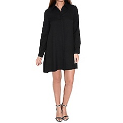 Alice & You - Black swing shirt dress