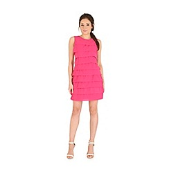 Madam Rage - Pink ruffle layered dress
