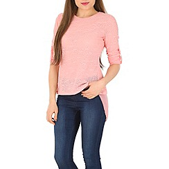 Izabel London - Pink patterened top