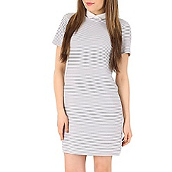 Poppy Lux - White zinnia tunic dress
