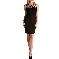 Zibi London - Black lace bodice dress