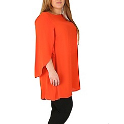 Emily - Red emily angel sleeve blouse top