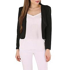 Izabel London - Black long sleeve smart jacket