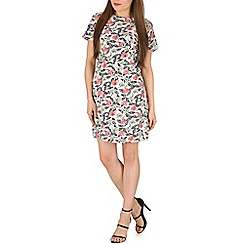 Poppy Lux - Multicoloured uma floral shift dress