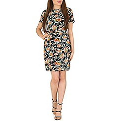 Poppy Lux - Multicoloured odette floral shift dress