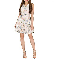 Mela - White spring flower dress
