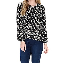 Alice & You - Black lace up blouse