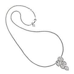 Diamonfire - Silver necklace
