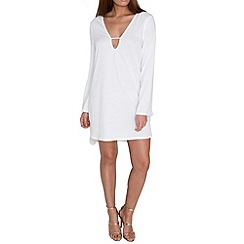 Alice & You - Cream bell sleeve tunic