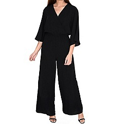 Alice & You - Black kimono sleeve jumpsuit
