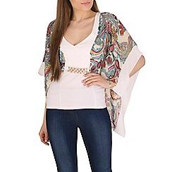 Lili London - Cream courtney kimono top