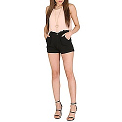 Lili London - Pink april blouson playsuit