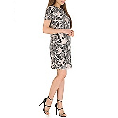 Sugarhill Boutique - Black lara zebra party tunic dress