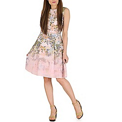 Sugarhill Boutique - Peach hatty wild flower dress