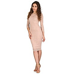 AX Paris - Cream all over lace dress