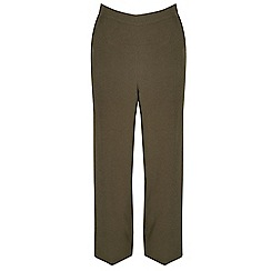 Alice & You - Khaki wide leg trousers