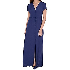 Alice & You - Navy button front maxi dress