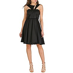 Oeuvre - Black detailed bodice prom dress