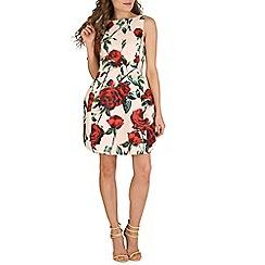 Oeuvre - Beige bell shaped dress