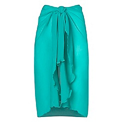 Seaspray - Turquoise waterfall sarong