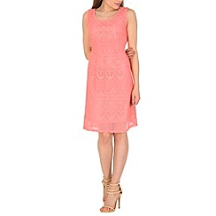 Pussycat London - Rose crochet flip dress