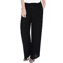 Alice & You - Black wide leg trousers