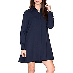 Alice & You - Navy swing shirt dress