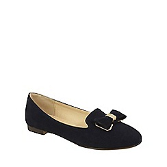 Keddo - Navy slipper style shoes