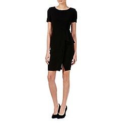 Zibi London - Black ruffles peplum dress