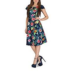 Solo - Navy lia rose dress