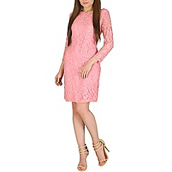 Solo - Pink ariana lace dress