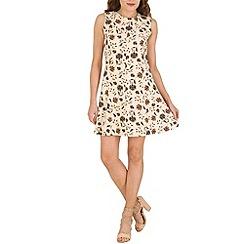 Tenki - Cream flower print dress