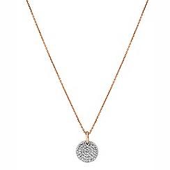 Buckley London - Gold metropolitan pendant