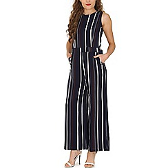 Tenki - Blue stripe jumpsuit