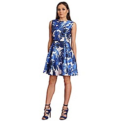 AX Paris - Blue floral skater dress