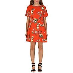 Lili London - Multicoloured floral shift dress