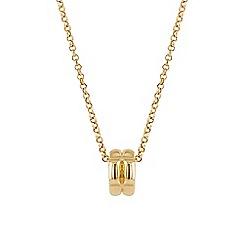 Buckley London - Gold buckley b pendant