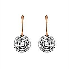 Buckley London - Gold metropolitan earrings