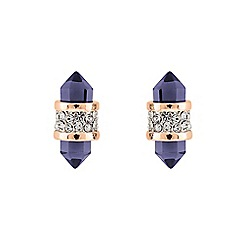 Buckley London - Gold shard amy glass earrings