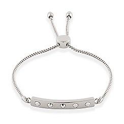 Buckley London - Silver rocks friendship bracelet
