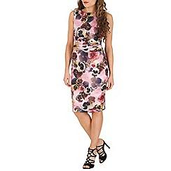 Jolie Moi - Pink floral print dress