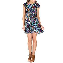 Indulgence - Multicoloured flower print dress