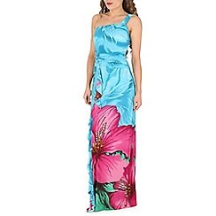 Indulgence - Blue maxi dress
